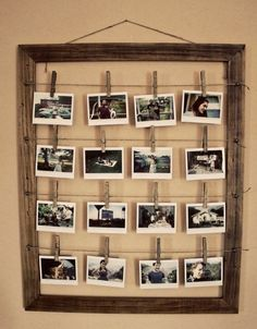 Read on to find 10 effortless DIY picture frame ideas . Pictures Read on to find 10 effortless DIY picture frame ideas . Homemade Picture Frames, Picture Frame Crafts, Wooden Picture Frames, Homemade Pictures, Mirror Photo Frames, Diy Mirror, Cadre Photo Diy, Diy Foto, Photo Deco