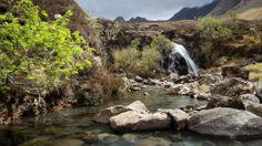 """Die wunderschönen Feen-Bassins """"Fairy Pools"""" auf der Isle of Skye"""