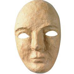 Chenille Kraft Company Paper Mache Mask (set of for sale online Cardboard Mask, Paper Mache Mask, Dark Fairytale, Bright Paintings, Face Characters, Arts And Crafts Supplies, Clay Art, Mask Making, Sculpture Art
