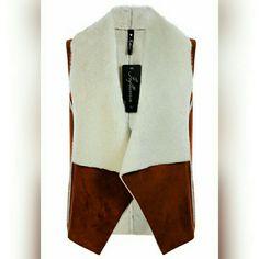 Faux Sheepskin Gilet Very Very Soft ! Brand New ! Won't last long ! Jackets & Coats Vests