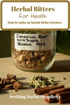Bitter herbs and bitter tinctures offer wonderful health benefits. Using bitters for health, we can improve our digestion, find relief from gas and bloating, end sugar cravings, and even improve skin conditions like eczema and acne. But most importantly,