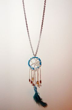 Dream catcher necklace!
