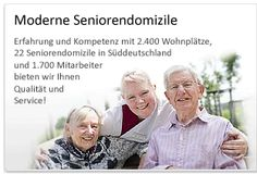 Altenheime, Pflegeheime sowie Dauerpflege, Kurzzeitpflege und Tagespflege bietet compassio aus Süddeutschland. Unser Schwerpunkt liegt auf der Betreuung und Pflege von Pflegebedürftigen und von Demenz betroffenen Menschen.