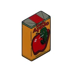 Image of Red Apple Cigarettes - Enamel Pin