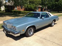 1976 Oldsmobile Cutlass Supreme Brougham- Very similar to mine.  Nice cruising car.