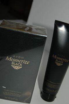 AVON Mesmerize Black, Eau de toilette spray and After Shave Conditioner #Avon