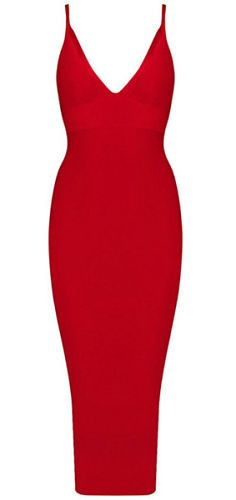 body-con fit, length below knee, sexy neckline, strap Occasion: Club wear, Cocktail Parties, Wedding Material: 90% rayon /9% nylon/ 1% spandex Color - Red, Pink ,Beige, Yellow Size -X-Small, Small, Me