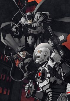 Batman & Robin vs. Mr. Freeze by Eddie Nunez and Josh Burcham
