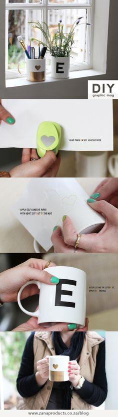 DIY Graphic Mug!