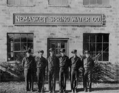 Nemasket Spring Water Co. Spring Water, My Town, Massachusetts, New England, History, Eye, Mineral Water, History Books, Historia