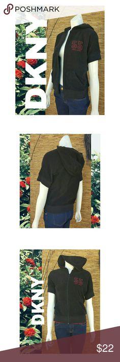 DKNY Athletics Gym Jacket Sweater Activewear Black DKNY Athletics Gym Jacket Sweater Activewear Black Dkny Sweaters Crew & Scoop Necks