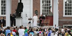 """Pope Francis Searches for the American Dream in Philadelphia""""There are some things we really need to take care of: the children, and grandparents. Children, whether they are young or older, they are the strength that moves us forward. We place our hope in them.Grandparents are the living memory of the family. They passed on the faith, they transmitted the faith, to us. To look after grandparents, children, is the expression of love..."""""""