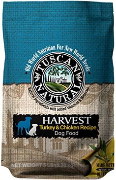 Tuscan Natural Pet Food Harvest Turkey and Chicken Dog Food Recipe, 28.6 lb ** Learn more by visiting the image link. (This is an affiliate link and I receive a commission for the sales)