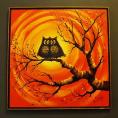 I REALLY WANT this companion piece to our owl painting!