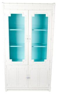 modern.chic.inspired.: Palm Monday, lacquered faux bamboo cabinet, one kings lane, vintage palm beach
