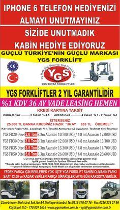 Satılık Forklift,YGS Forklift