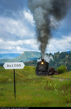 RailPictures.Net Photo: C&TS 489 Cumbres & Toltec Scenic Railroad Steam 2-8-2 at Chama, New Mexico by John Crisanti