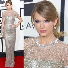 Taylor Swift at the 56th Annual Grammy Awards held at the Staples Center in Los Angeles, California, on January 26, 2014