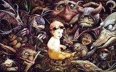 My favorite artist-Dark Crystal and Labyrinth inspiration