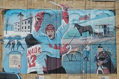 Paul Henderson Wall Mural - Lucknow