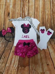 Here is Minnie Mouse Birthday Outfit Collection for you. Minnie Mouse Birthday Outfit minnie mouse birthday outfit b. 2nd Birthday Outfit, Minnie Mouse Birthday Outfit, Minnie Mouse Theme, Mouse Outfit, 3rd Birthday, Birthday Parties, Minnie Mouse Onesie, Minnie Mouse Headband, Pink Minnie
