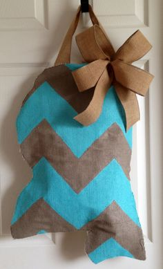 Mississippi Burlap Door Hanger by SweetMagNola on Etsy Would LOVE this in the shape of Texas!