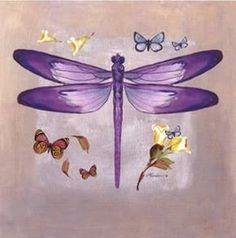 Browse Purple+dragonfly+art pictures, photos, images, GIFs, and videos on Photobucket Dragonfly Drawing, Dragonfly Wall Art, Dragonfly Tattoo, Butterfly Logo, Butterfly Dragon, Art Pictures, Art Images, Photos, Pretty Pictures