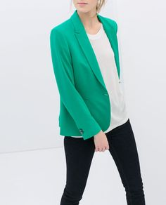 Image 5 of CASUAL BLAZER from Zara