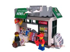 Newsstand Kit @ brickbuilderspro