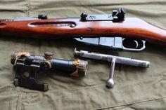7.62 mm sniper rifle Mosin arr. 1891/30 years