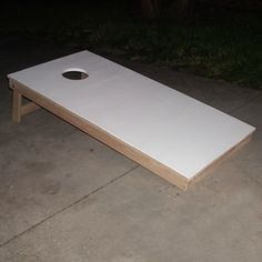 Build Your Own Cornhole Game Board with These Free Plans from About.com