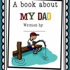 Cute Father's Day Book!    Kids love to complete this very personal book all about their dads.     Included are:     3 covers to choose from (one with a ...