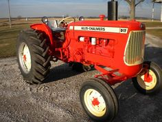 D-17 Allis Chalmers tractor.