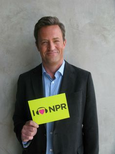 Actor Matthew Perry looked sharp during a visit to NPR West earlier this year when he came to shoot a demo pilot of Go On, which will air on NBC this fall.