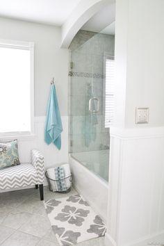 bathroom makeover reveal