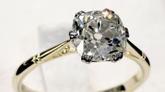 '1920's Antique Engagement Ring' http://www.acsilver.co.uk/shop/pc/2-08-ct-Diamond-and-18-ct-Yellow-Gold-Solitaire-Ring-Antique-Circa-1920-35p9045.htm
