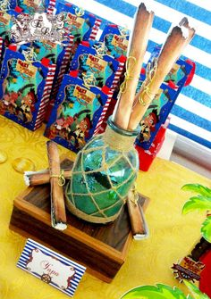 Jake and Neverland Pirates Birthday Party Ideas   Photo 1 of 14   Catch My Party