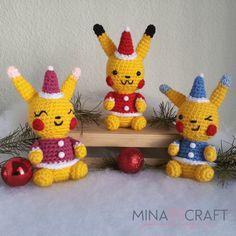 Pikachu amigurumi patrón gratis  #pikachu #amigurumi