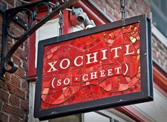 Xochitl, Philadelphia, PA: #1 on my hunt for the most amazing Mexican restaurant, they transformed my entire undertanding of tortilla soup - fresh, crisp, understated. (http://www.xochitlphilly.com/)