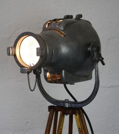 "stage light, ""Lights,Camera,Action"", pinned by Ton van der Veer"