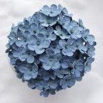 Hydrangea Topper- gum paste blossoms