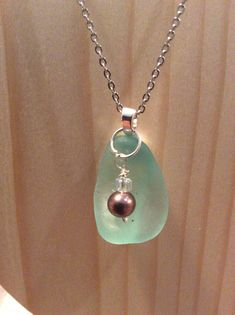 A personal favorite from my Etsy shop https://www.etsy.com/listing/564132245/pretty-sea-glass-necklace
