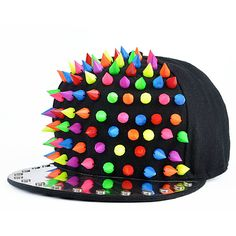 Special Colorful Studded Snapback Hat http://www.sneakoutfitters.com/Accessories/Special-Colorful-Studded-Snapback-Hat-p4685.html