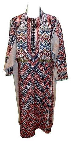 рубаха южных хантов из Тобольского музея