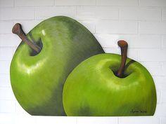 maçãs verdes by argina seixas, via Flickr
