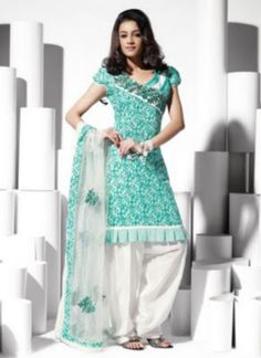 Cotton Salwar Kameez Neck Designs