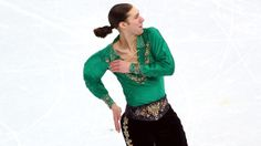 Figure skater Jason Brown spills the secrets of his 'bronytail' ... This guy is great!