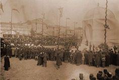 Alman Çeşmesi'nin açılışı..1901 Yeşim -RYD