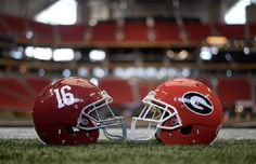 10 Essential Things You Need To Know About Tonight's College Football Playoff National Championship College Football Championship, Sec Football, One Championship, Crimson Tide Football, National Championship, Alabama Football, Alabama Crimson Tide, Lsu, Football Helmets