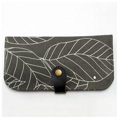 Handmade Bifold Wallet Long Wallet Women's Clutch by soarshadow